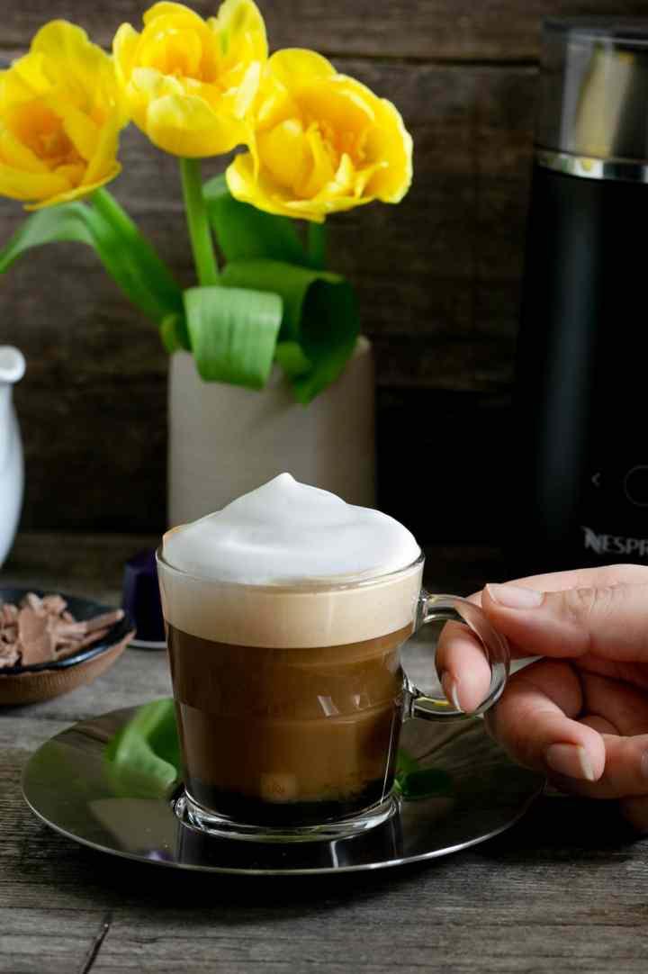 Cafe Viennois recipe using Nespresso Barista drink maker #coffee | via @annabanana.co