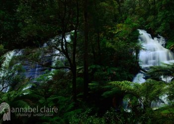 Triplet Falls visited on a Chasing Waterfalls trip to Apollo Bay