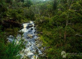 Swallow Cave Falls (Upper Sheoak Falls)