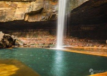 Secret location: Gerrigong Falls