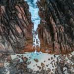 Injidup Natural Spa Rock Pool Drone Photo