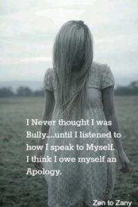 Bullying Myself