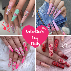 The Most Glamorous Valentine's Day Nail Ideas | Valentine's Day Nails