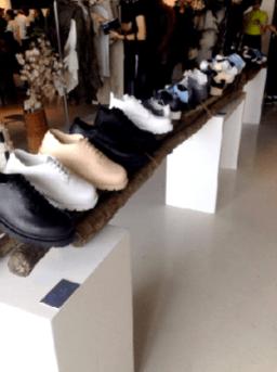 Heavy London showroom space- footwear
