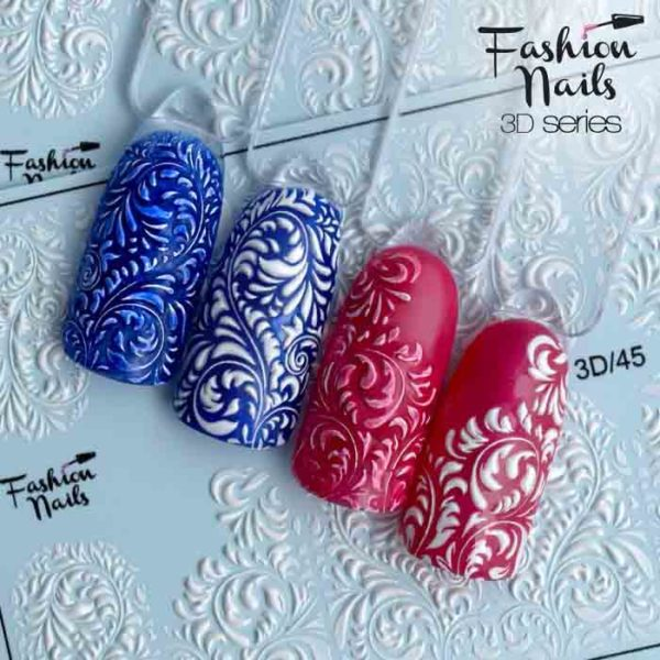 Fashion Nails, Слайдер дизайн 3D-45
