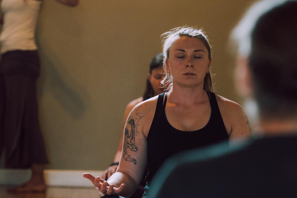 Yoga retreat Feel. Focus. FlowTM Class with Lori Glazebrook