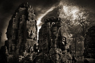 Two Towers at the Bayon