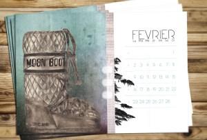 Calendrier du mois de Février pour le blog Smell of Female