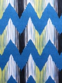 Ikat River Fabric Close Up