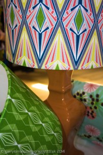My new lampshades went down a storm and will be added to my online shop very soon!