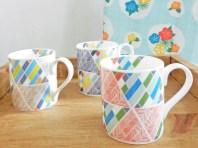 Teacups in Echo Stripe