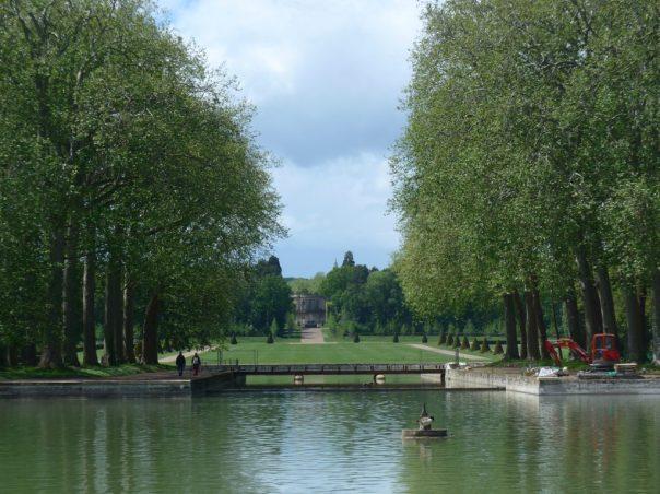 Footbridge across the Petit Canal, Parc de Sceaux