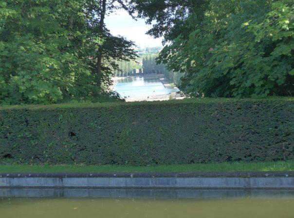 Grand Canal from the carp pond, Parc de Sceaux