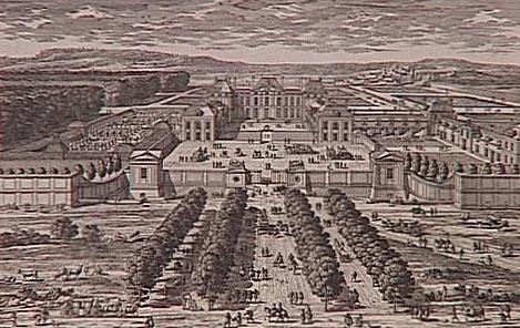 Engraving of Château de Sceaux