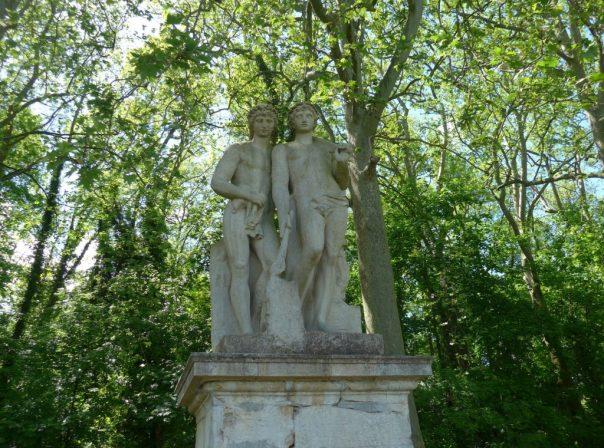 Castor and Pollux, Parc de Sceaux