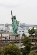 Mini Statue of Liberty in Odaiba Tokyo