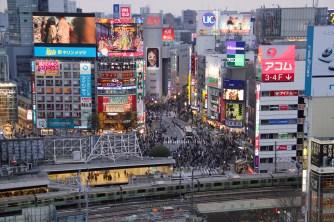 Shibuya 'scramble' intersection