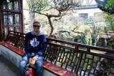 Ben at the Yuyan Gardens in Shanghai