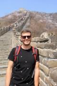 Ben at the Great Wall
