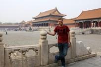 Ben at the Forbidden City