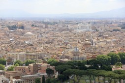 View of Rome from St Peter's