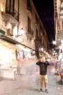 Matt posing in a Sorrento night shot