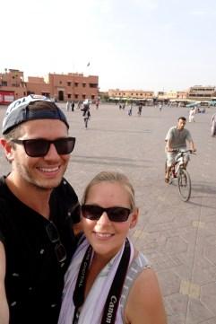 Selfie in Marrakech