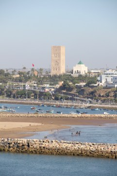 View of the city of Rabat