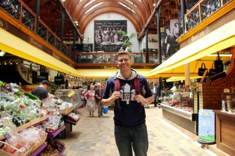 Ben at the Old English Market in Cork