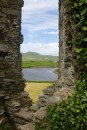 Ballycarbery Castle ruins