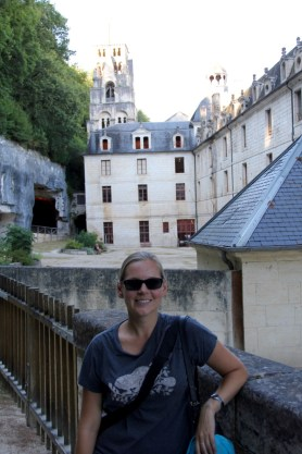 Brantome caves - right behind the abbey