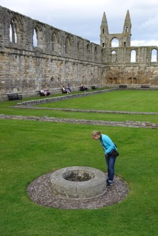 Anna at St Andrews Cathedral