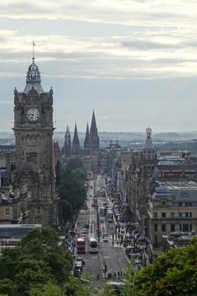Edinburgh view from Calton Hill