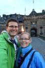 Selfie at Edinburgh Castle before the Tattoo