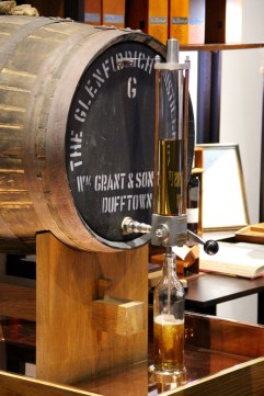 Glenfiddich distillery - another customer bought a bottle that they got to pour