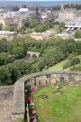 Edinburgh Castle (with a view of the dog cemetery for service dogs)