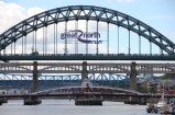 Newcastle is a city of bridges - the big one resembles the Sydney Harbour Bridge as they were built by the same company