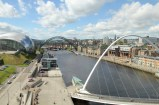 View of Newcastle from the BALTIC Centre for Contemporary Art