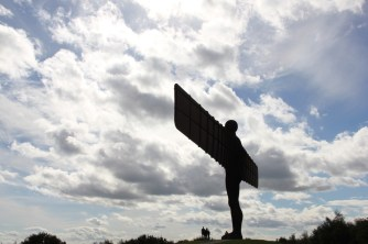 'Angel of the North' in Newcastle
