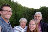 Selfie at Elora Gorge with Anna's parents