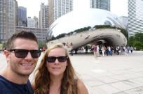Selfie at the Cloud Gate