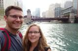 Selfie along the Chicago Riverwalk