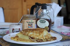 Potato pancakes, a Polish specialty