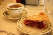 Delicious cherry pie stop on Route 66