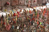 'Gum wall' at the Seattle Pike Place Market