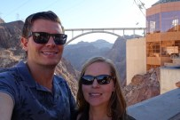 Selfie at the Hoover Dam