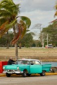 There were lots of old well maintained cars all over Cuba