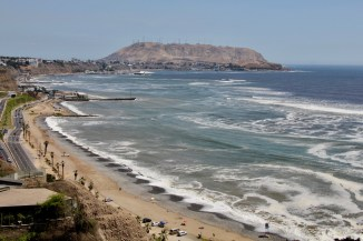 Coastal view, Lima, Peru