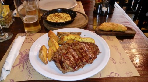 More great steak in Buenos Aires