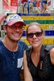 Selfie at Escadaria Selaron, Rio de Janeiro